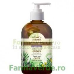 Sapun lichid cu extract de masline EP68 Green Pharmacy Cosmetica Verde