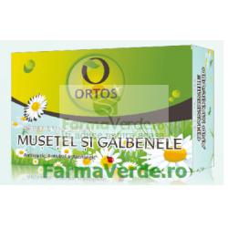 Sapun cu Extract de Musetel si Galbenele 100 g Ortos Prod