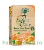 Sapun vegetal cu extract de caise 250 gr FPO15 Le Petit Olivier Cosmetica Verde