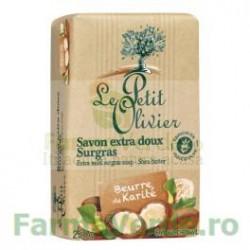 Sapun vegetal cu unt de karite 250 gr FPO12 Le Petit Olivier Cosmetica Verde