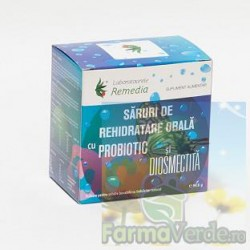 Saruri rehidratare cu probiotic si diosmectita 12 doze+6 doze+6 doze Remedia