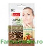 Scrub rejuvenant cu pulbere de cafea FF7 Fitocosmetic Cosmetica Verde
