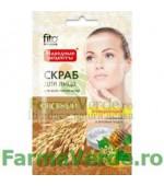 Scrub purifiant cu pulbere de ovaz FF5 Fitocosmetic Cosmetica Verde