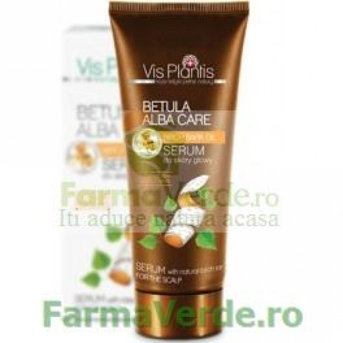 Ser pentru scalp cu gudron de mesteacan 200 ml EP99  Green Pharmacy Vis Plantis