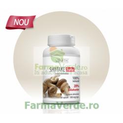 Shiitake Forte Ciuperca 500 mg 60 capsule Zenyth Pharmaceuticals
