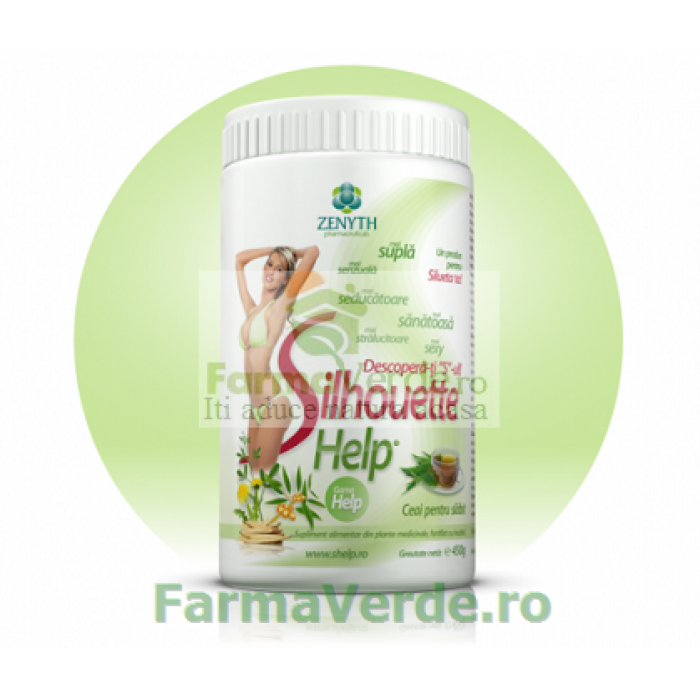 SILHOUETTE HELP Ceai pentru Slabit! 450 gr Zenyth Pharmaceuticals