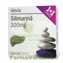 Silimarina 300 mg 1+1 CADOU! 50 cpr+50cpr Alevia