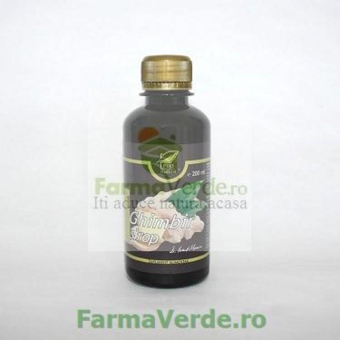 Sirop Ghimbir 200 ml ProNatura Medica