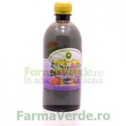 Sirop Multifruct cu Zahar Invertit 500 ml Hypericum Impex Plant