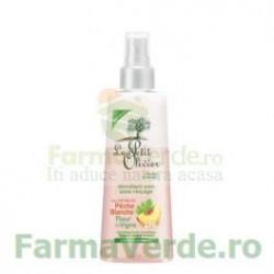 Spray pentru descurcarea parului normal cu extracte de piersica si flori de vita de vie FPO46 Le Petit Olivier