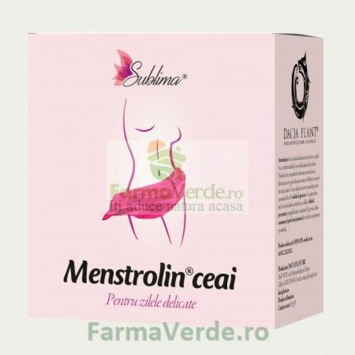 Ceai Menstrolin 50 gr DaciaPlant
