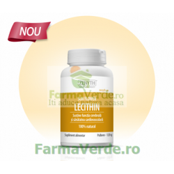 Sun Flower Lecithin Lecitina din Floarea Soarelui Pulbere 120 gr Zenyth Pharmaceuticals
