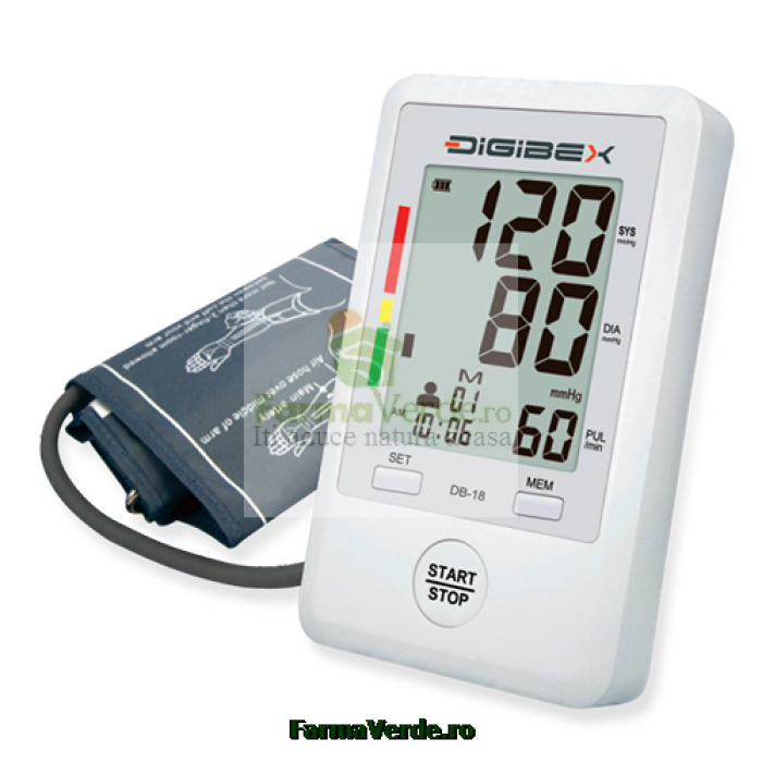 Tensiometru automat cu masurare pe brat DIGIBEX DB-18 Bioexpert