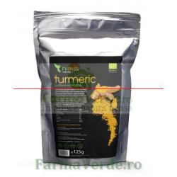 Turmeric (Curcumin) Pulbere Ecologica/Bio 125 gr Niavis