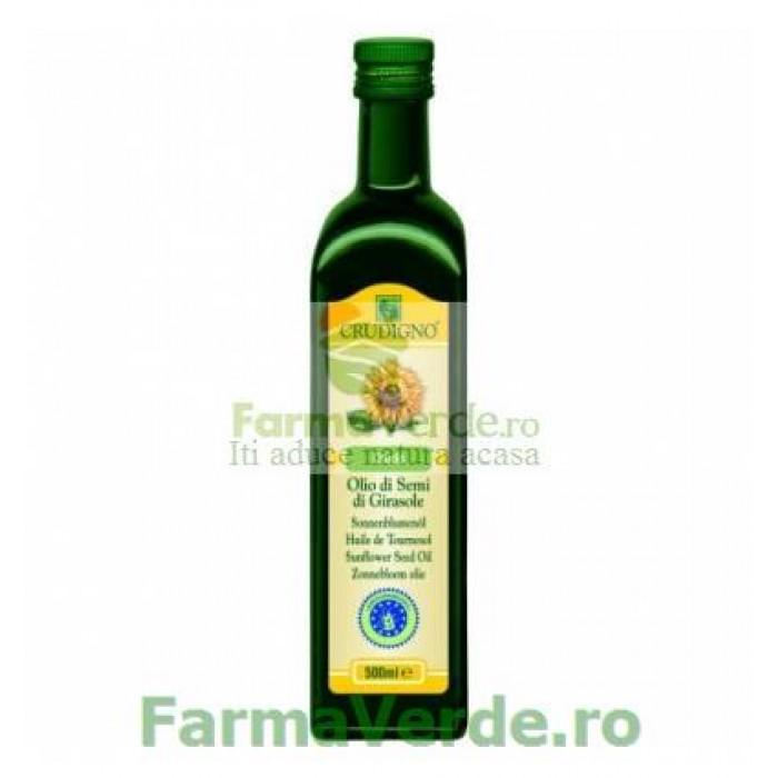 Crudigno Ulei de Floarea Soarelui BIO 1000 ml My Bio Natur