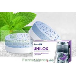 Unilox unicul antiacid inventat, guma de mestecat cu menta si minerale 30 bucati Digest Uno Solacium Pharma