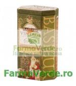 Ceai Vintage Christmas Tree Cutie Metalica 100 gr Basilur Tea