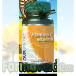 Vitamina C alcalina 60 capsule Dvr Pharm