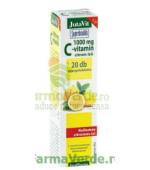 VITAMINA C TABLETE EFERVESCENTE cu  Gust de Lamaie 1000 mg 20 tablete Magnacum Med