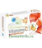 Vitamina C cu propolis pur 30 comprimate de supt ACHelcor