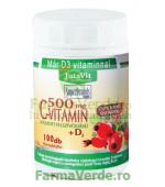 Vitamina C Retard Macese +Vitamina D3 500 mg 100 tablete Magnacum Med