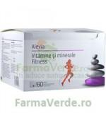 Vitamine Si Minerale Fitness 60 plicuri Alevia