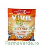 VIVIL Bomboane Portocala Amara Fara Zahar 80 gr
