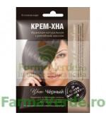 Vopsea-crema vegetala HENNA NEGRU 50 ml FP9 Cosmetica Verde
