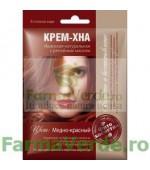 Vopsea-crema vegetala HENNA ROSU CUPRU 50 ml FP10 Cosmetica Verde