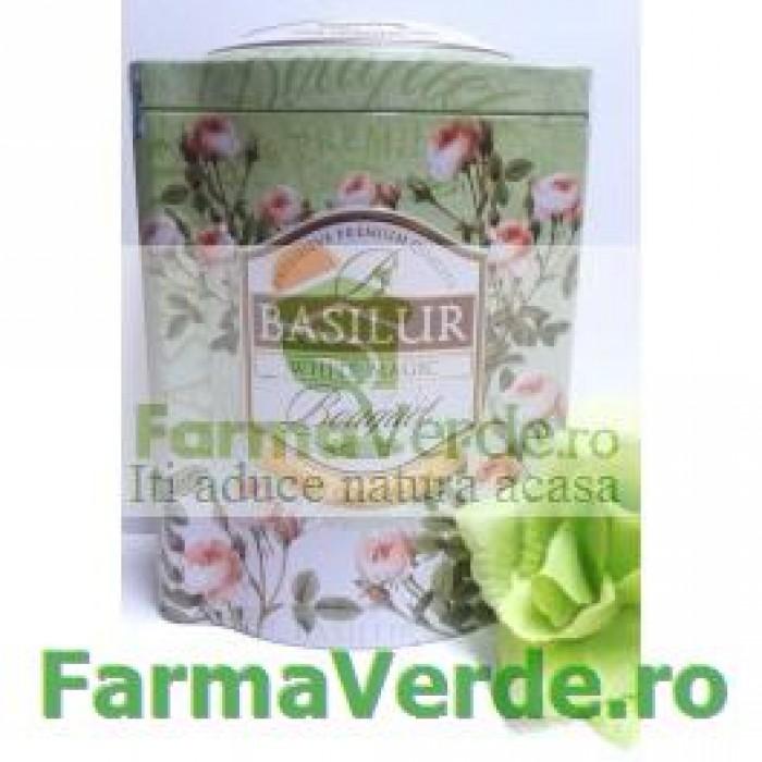 Ceai Bouquet White Magic 100 gr Cutie Metalica Basilur Tea