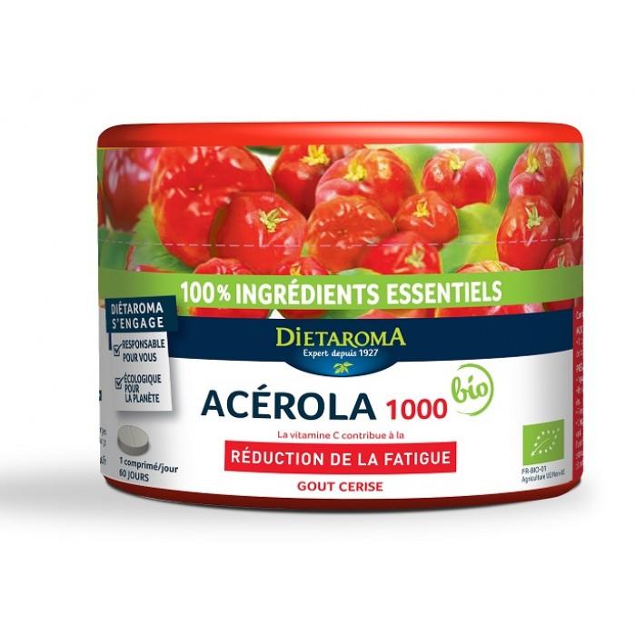 Acerola 1000 BIO Vitamina C 60 Comprimate Dietaroma