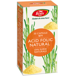 Acid Folic Natural 30 capsule G71 Fares
