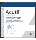 ACUTIL Memorie si Concentrare! 30 capsule CSC Pharmaceuticals