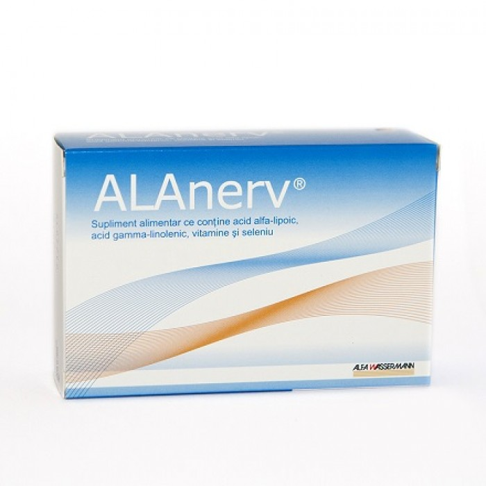 ALAnerv supliment alimentar 20 capsule Alfa Wassermann