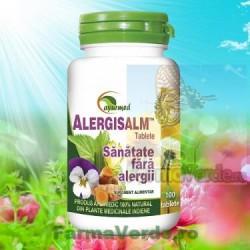 Alergisalm 100 Tablete Ayurmed Star International