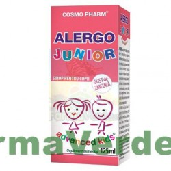 ALERGO JUNIOR Copii Sirop 125 ml Advanced Kids Cosmopharm