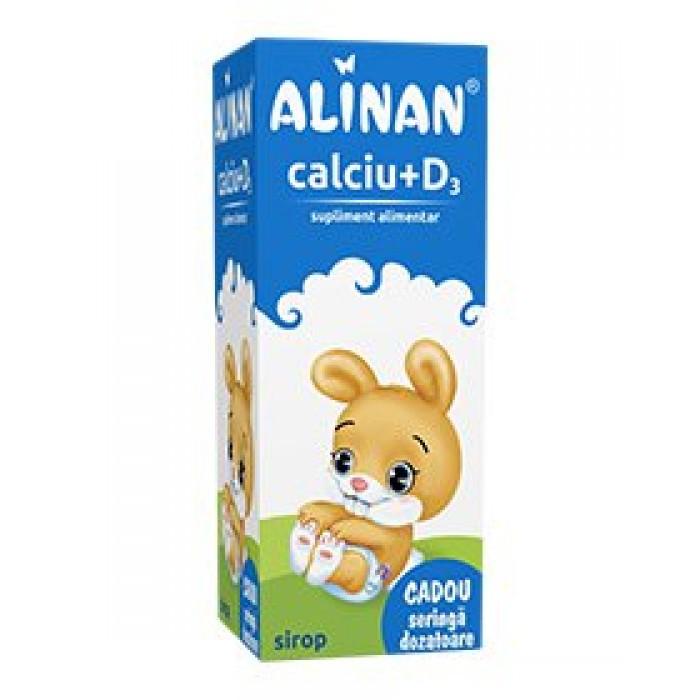Alinan Calciu KIDS Sirop 150 ml Fiterman Pharma