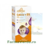 Alinan Calciu +D3 Baby Sirop 150 ml Fiterman Pharma