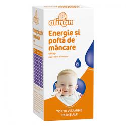 Alinan Energie si pofta de mancare sirop 150 ml Fiterman Pharma