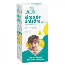 Alinan Sirop de linistire copii somn linistit 150 ml Fiterman Pharma