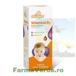 Alinan Vitamina D3 Picaturi 10 ml Fiterman Pharma