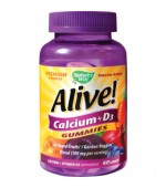 Alive Calcium + D3 Gummies 60 jeleuri Nature's Way Secom
