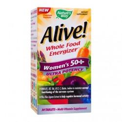 Alive Women's Vitamine pentru Ultra Protectie 50 ani+ 30 tablete Secom