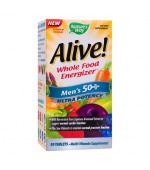 Alive Men's Vitamine Barbati 50ani+ Ultra Nature's Way 30 tablete Secom