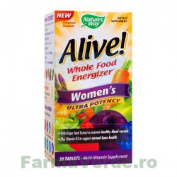 Alive Once Daily Women Ultra 30 tablete filmate Secom Nature's Way