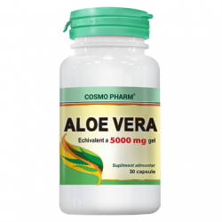 Aloe Vera 30 5000mg capsule Cosmopharm