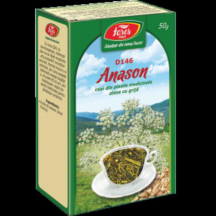 Ceai Anason Fructe 50 gr Fares
