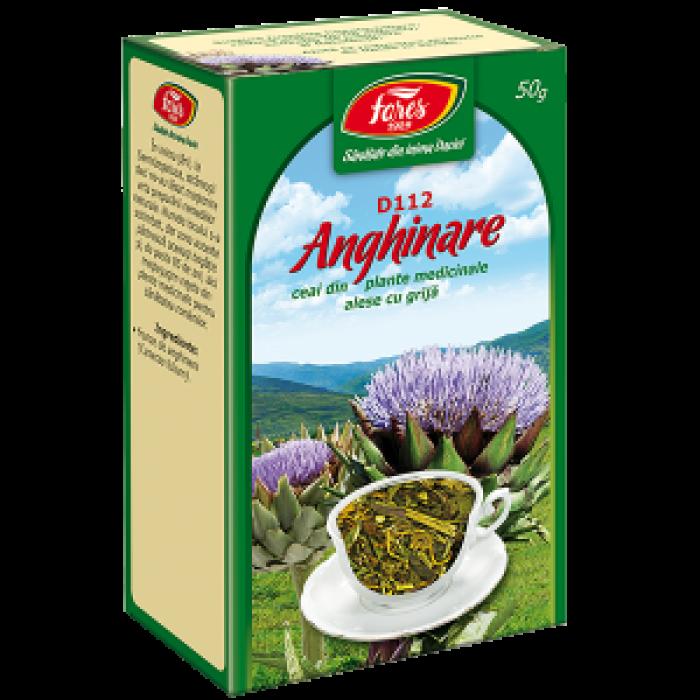 Ceai Anghinare Frunze 50 gr Fares