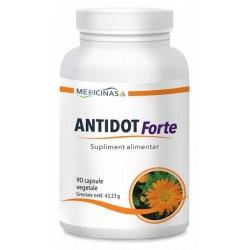 Antidot Forte virusul HIV,Borelioza,Candida 90 capsule vegetale Medicinas