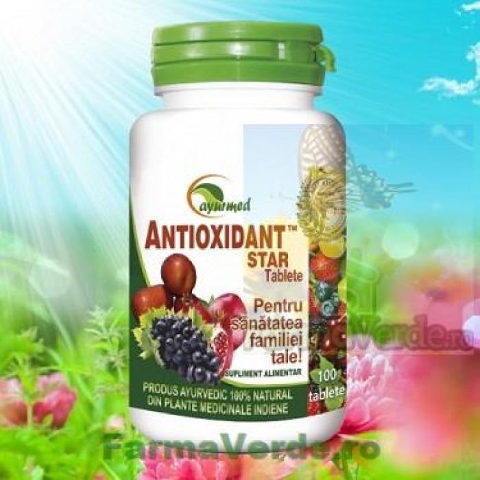 Antioxidant Star 100 Tablete Ayurmed Star International